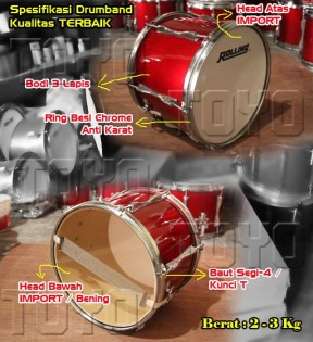 Spesifikasi Drumband Terbaik