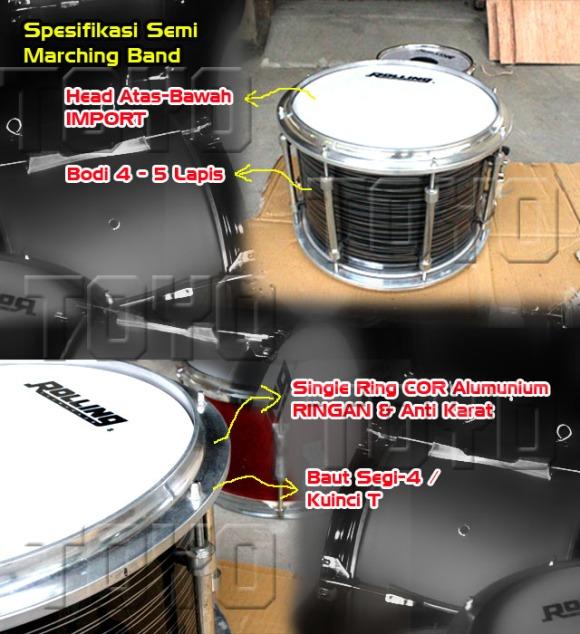 Spesifikasi Semi Marching Band